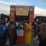 Fan Fest Hamburg: Italien - Spanien